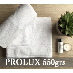 Linge de bain haute qualité en éponge 100% coton - PROLUX - 550 gr/m²