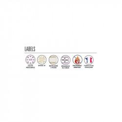 Matelas Mousse MARGAUX labels