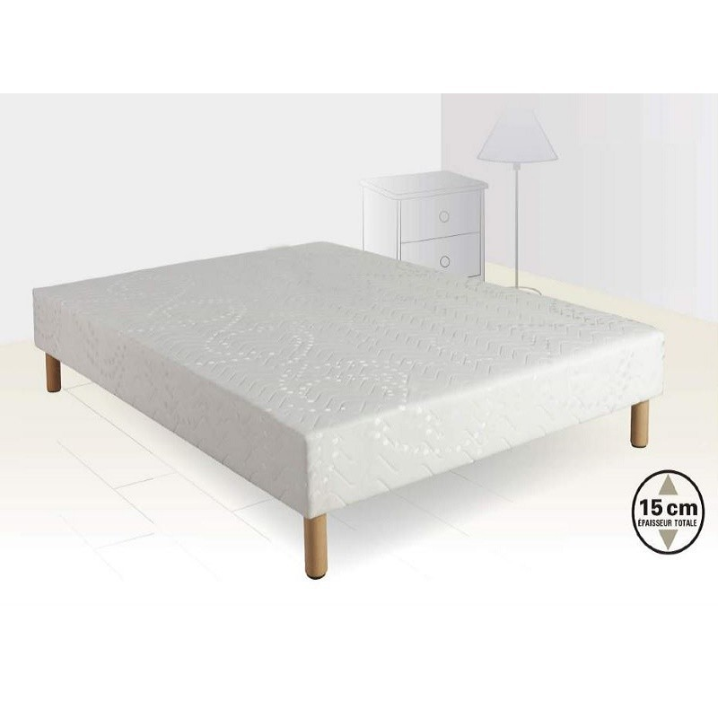sommier tapissier lattes achille. Black Bedroom Furniture Sets. Home Design Ideas