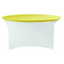 Housse de protection table rondes pour salle de réception & banquets