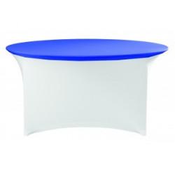 Protection de table ronde pour hôtels, salles de réception et banquets