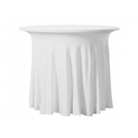 Housse de table plissé - BISTRO TABLE WAVE - 180 gr/m²