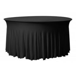 Housse de table arrondi de grande taille en 17 coloris - GRANDEUR RONDE - 180 gr/m²