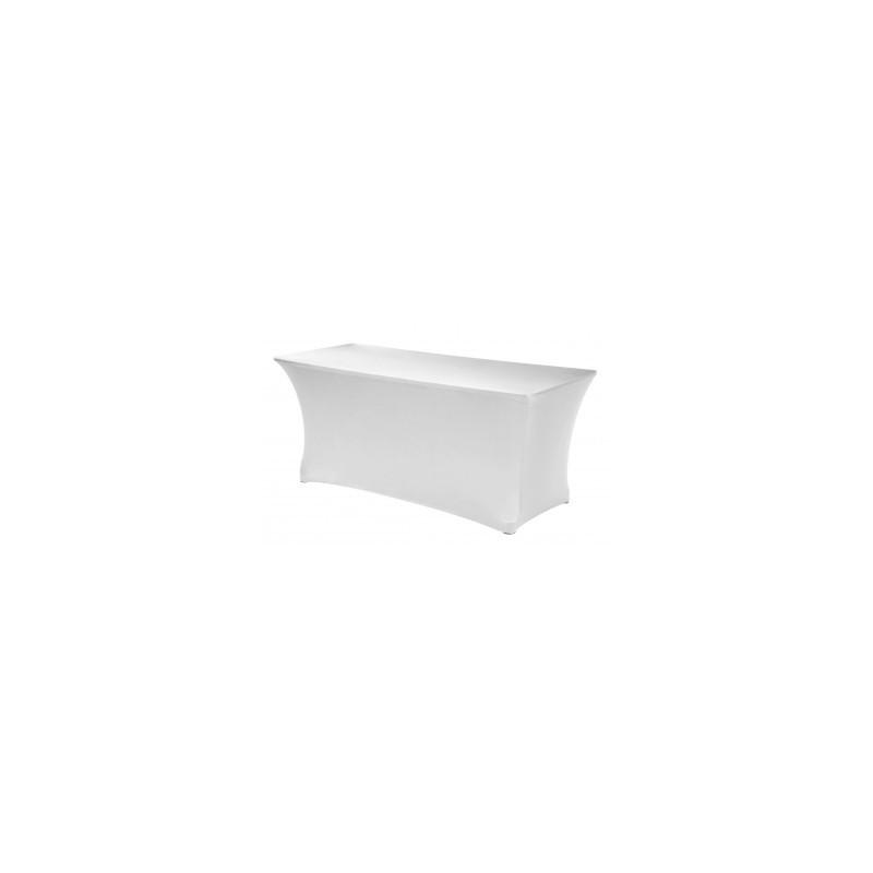 Housse de table rectangulaire | 100% polyester pour banquets