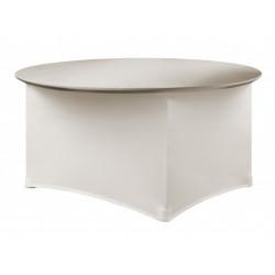 Housse de table ronde - PREMIUM - 180 gr/m²