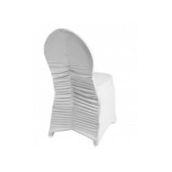 Housse de chaise de couleur - ÉLÉGANCE - 180 gr/m²