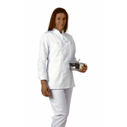 Veste de cuisine femme cintrée - SABINE - Polycoton