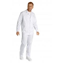 Veste mixte agro longues manches - NICOLAS - 245 gr/m²