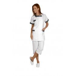 Blouse professionnelle santé et bien-être - BERNY - 210 gr/m²