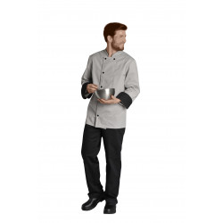 Veste de cuisine aéré sous les bras - MATHIS - Manches longues