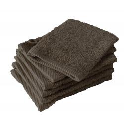 Lot 12 Gants de toilette hôtel | Coton peigné Égyptien | Qualité luxe