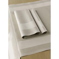 Chemin de table 100% coton damassé professionnels restauration