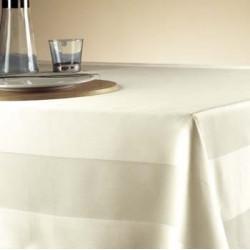 Lot de 6 nappes restaurant | 100% coton damassé | Très grande qualité