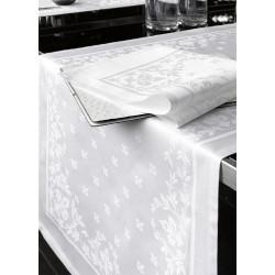 Serviette table restaurant coton damassé | Résistantes et absorbantes