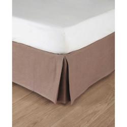 Cache sommier - Polycoton - Tissu Tevere