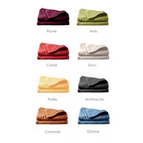 Couverture polyester lisières surjetées - IZOARD - 400 gr/m²