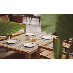 Lot de 12 sets de table - DAYDRAP Uni - Dimension : 45 x 32 cm