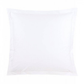 Taies d'oreillers - CHENONCEAU - Percale de PolyCoton 200 fils