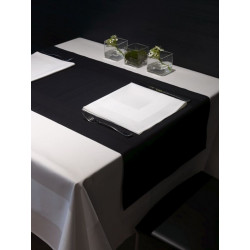 Serviette de table en coton damassé
