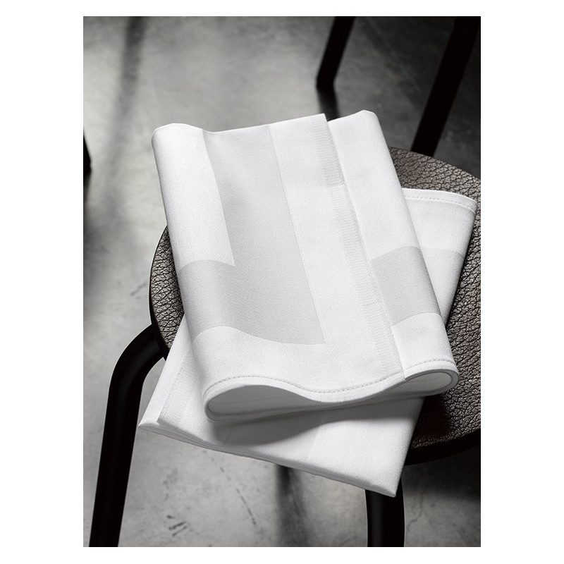 Serviettes de Table LUNA Blanche