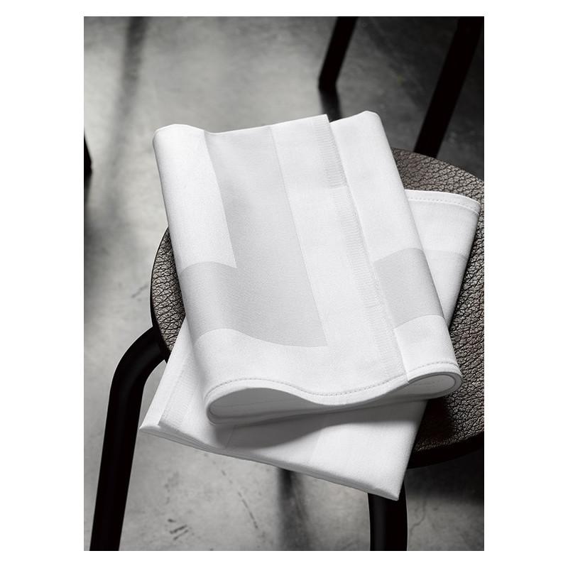 Serviettes de Table LUNA Blanche