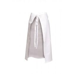 5 tabliers de cuisine longs - Blanc ou noir - Comptoir Textile Hôtelier
