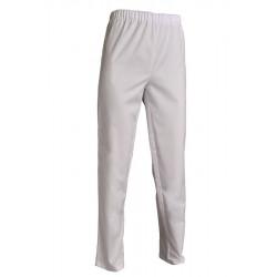 Pantalon de service mixte | En polycoton piqué | Ceinture élastiquée