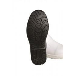 Mocassin de sécurité cuir | Blanc ou noir | Mixte | Renforcé