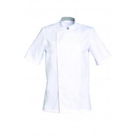Veste cuisine mixte - COOKIE - manches courtes - Polycoton