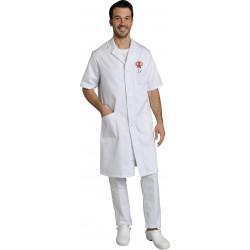 Blouse col tailleur - OSCAR - 100% coton - 210 gr/m²