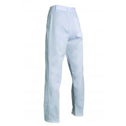 Pantalon cuisine homme en polycoton | 2 poches | Braguette pressions