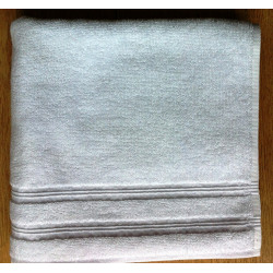 Lot de 10 serviettes invités blanches - PROCLAS - 500 gr/m²