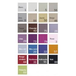 Housse de couette couleur pour hôtel et gite | Qualité professionnelle