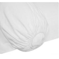 Protège traversin élastiqué en 100% coton - COURLIS - 200 gr/m²