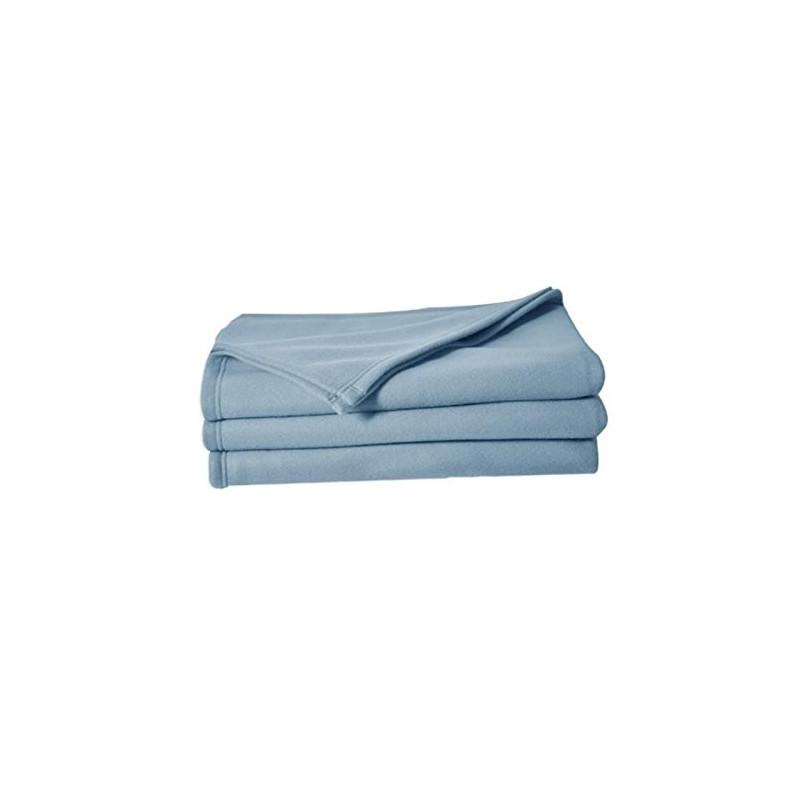 Couverture hôtellerie | 100% polyester polaire | Facile d'entretien