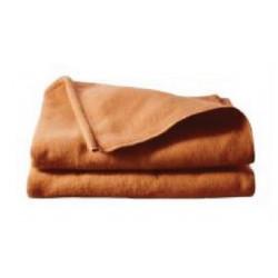Couverture hôtellerie | Polyester non feu | Confortable et chaude