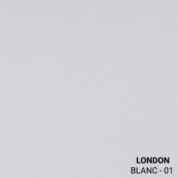 Échantillon tissu 100% polyester - LONDON - 250 gr/m²