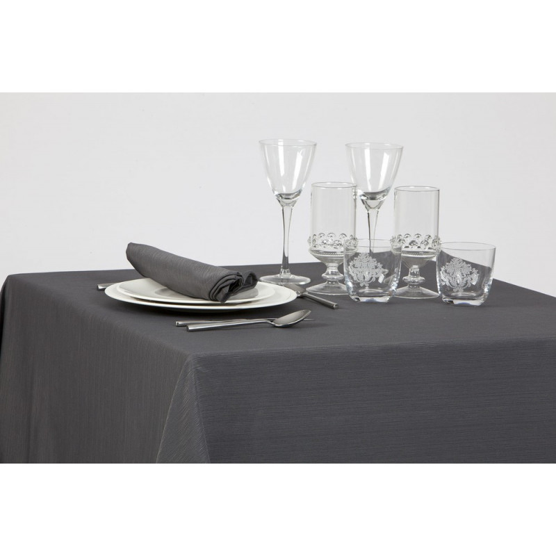 Nappage restaurant faux uni | 100% polyester | 6 coloris