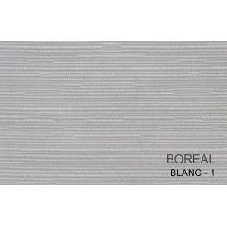 Échantillon tissu faux uni 100% polyester - BOREAL - 260 gr/m²
