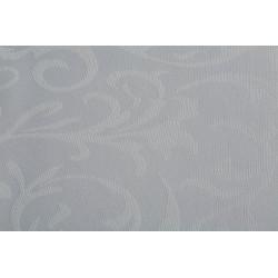 Échantillon tissu 100% polyester damassé floral - IPANEMA - 230 gr/m²