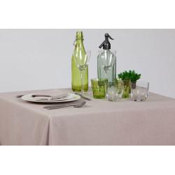 Nappage restaurant polyester et lin | Facile d'entretien | 11 coloris