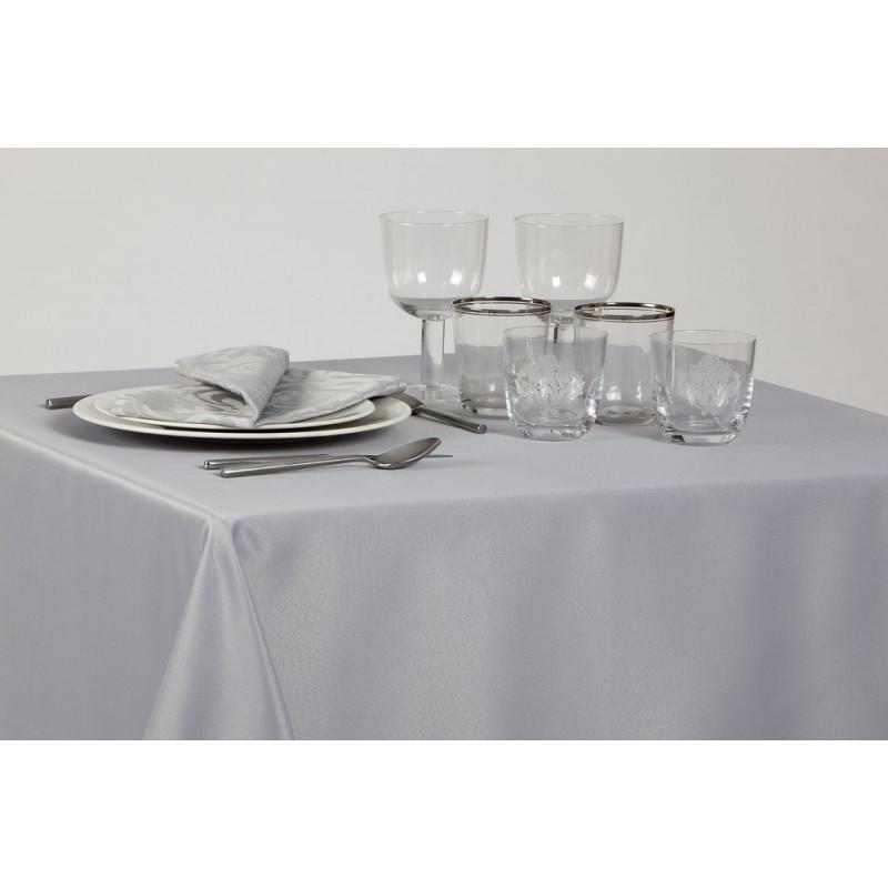 Nappage restaurant 100% polyester uni | Déperlant | 8 coloris