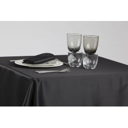 Nappage restaurant 100% polyester | Satiné | Uni | 9 coloris