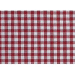 Échantillon tissu polycoton - CAPRI Petits carreaux - 190 gr/m²