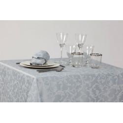 Nappage polycoton damassé floral - REMINENCE - 230 gr/m²