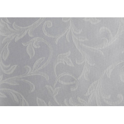 Échantillon tissu floral polycoton damassé - REMINENCE - 230 gr/m²