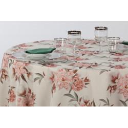 Nappage 100% polyester imprimé floral - TAGORE IMPRIME - 290 gr/m²
