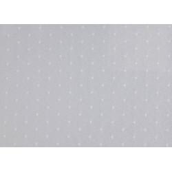 Échantillon tissu polycoton tissage plumetis - TOPO - 230 gr/m²