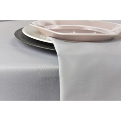 Lot de 10 serviettes de table 100% polyester résistant - LONDON - 250 gr/m²