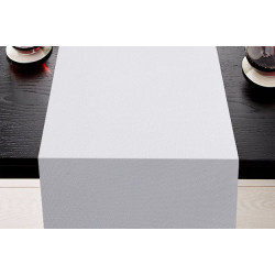 Lot de 5 Chemins de table 100% polyester résistant - LONDON - 45 x 110 cm